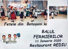 După un an de muncă, Balul Fermierilor cu recital Fetele din Botoșani, Frații Reuț, Adriana Ochișanu