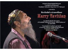 Eminescu sărbătorit cu un recital de jazz al lui Harry Tavitian