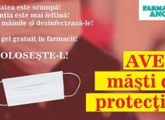 O farmacie din Botoșani vinde măști de protecție fără adaos, la preț de producător