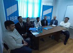 VIDEO USR merge cu Gheorghiță la Primărie și o listă cu super profesioniști la Consiliul Local