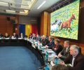 FOTO Șoptică, dovadă de forță în fața PSD și PNL: a adus ministru, secretari de stat și o mulțime de șefi la Botoșani