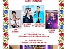 Liderul TNL oferă un regal de muzică localnicilor din comuna natală: Dan Doboș, Ana-Maria Bucșă, Constantin Petrescu și Andrei Luigi