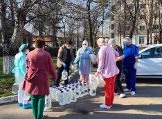 Deputatul Rotaru a donat soluții de dezinfecție și viziere în valoare de 15.000 lei, Spitalului de Boli Infecțioase din Botoșani