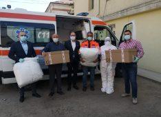 FOTO Echipamente de înaltă protecție medicală în valoare de 52.500 de lei donate salvatorilor în halate albe din Botoșan