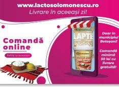 Una din cele importante fabrici româneşti de lactate livrează direct la domiciliul clientului. Comenzile se pot face online şi telefonic