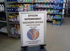 Supermarket de 800 mp deschis la Ștefănești de cea mai mare firmă cu capital local din comerțul modern