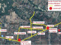 Licitație de 5 milioane euro la Flămânzi pentru asfaltări, apă și canalizare, cantină socială, o creșă și o grădiniță