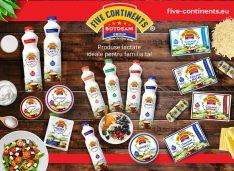 Își consolidează poziția în piață! Producătorul de lactate Five Continents Group se mențin la o cifră de afaceri de 70 milioane lei