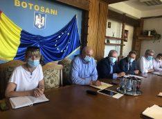FOTO Șefa CNAIR a venit la Botoșani. Șoptică, Flutur și Achiței i-au cerut urgentarea lucrărilor la drumurile spre Iași și Ștefănești