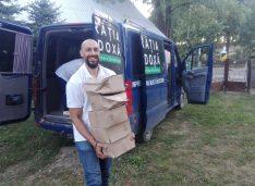 Frăția Ortodoxă filiala Botoșani a distribuit pachete alimentare familiilor nevoiașe din Buda, Pădureni și Băiceni