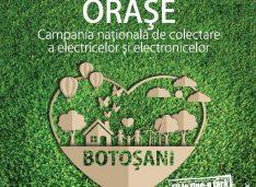 """Campania """"Orașe Curate"""" poposește în Botoșani"""