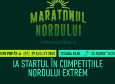 Maratonul Nordului: MTB la Pomârla – 29 august, Teioasa Trail – 30 august