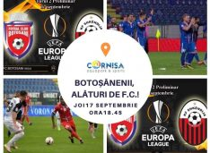 Primarul Flutur va vedea la Cornișa, alături de suporteri, meciul care l-ar putea aduce pe Jose Murinho la Botoșani