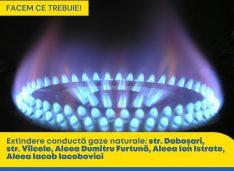 Cătălin Flutur: Recepție a rețelei de gaz pentru zonele de la periferia municipiului Botoșani