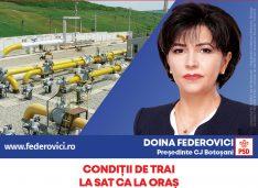 """Doina Federovici: """"La Consiliul Județean voi continua programele de asfaltări și extinderi de utilități publice inițiate de PSD pentru fiecare localitate"""""""