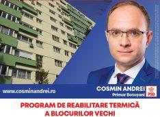 """Cosmin Andrei: """"O locuință modernă pentru fiecare botoșănean: apartamente ANL și terenuri pentru tineri, locuințe pentru specialiști, blocuri izolate termic"""""""
