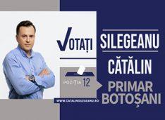 Cătălin Silegeanu: Despre actorii blaturilor politice, Flutur și Cosmin! Avem un Botoșani oraș și un Botoșani sat