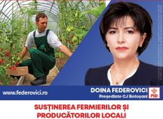 """Doina Federovici: """"La Consiliul Județean voi fi principalul partener al fermierilor botoșăneni"""""""
