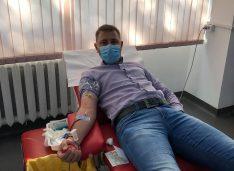 Criză de sânge în spitalele din Botoșani. George Popescu a lăsat campania pentru a dona sânge. Mergeți și donați!