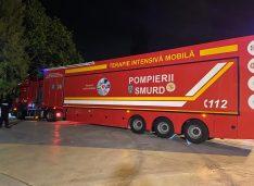 Unitate mobilă cu 12 paturi de terapie intensivă trimisă la Botoșani pentru a prelua din cazurile grave cu Covid-19