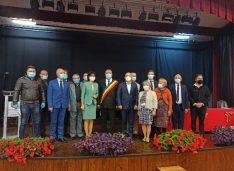 """VIDEO-FOTO """"Campionul proiectelor""""Relu Tîrzioru a depus din nou jurământul de primar al orașului Săveni"""