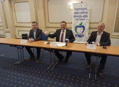 VIDEO Cezar Vizitiu și un fost ministru al Dezvoltării deschid listele PMP la alegerile parlamentare