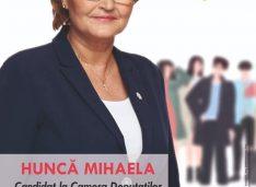 Mihaela Huncă: La Mulți Ani România, La mulți Ani români! Drumul către o viaţă mai bună ni-l construim noi înşine! Să fim români în fiecare zi!