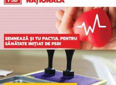 PSD Botoșani a inițiat PETIȚIA SĂNĂTATEA – PRIORITATE NAȚIONALĂ! Semnează și tu pe site-ul:petitieonline.com/sntatea__prioritate_naional