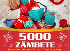 Să îi ajutăm! Daniel Câșlariu și Grup Civic vor să ofere din nou 5000 de zâmbete copiilor nevoiași la sărbători