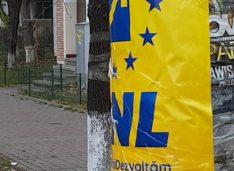 PSD Botoșani: Reprezentanții locali ai actualului Guvern, în lipsa dialogului cu botoșănenii au îngălbenit stâlpii din jurul secțiilor de votare cu afișe amplasate ilegal
