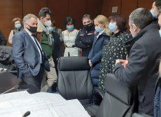 FOTO Doina Federovici: 1 martie – data la care vor demara lucrările la UPU