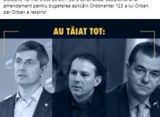 """Budăi de pământ cu Orban din cauza alocațiilor: """"Din ciclul ce am spus astăzi despre ieri că mâine va fi soare!!!"""""""