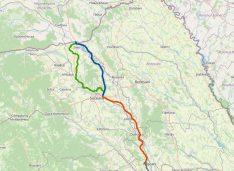 FOTO Autostrada Moldovei A7 va trece și prin județul Botoșani. Comunele Tudora, Cândești și Mihăileni vor fi străbătute de viitoarea autostradă