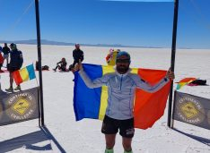 """Pompierul botoșănean Iulian Rotariu a câștigat și ultramaratonul """"Ultra Bolivia Race"""""""