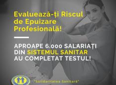 Solidaritatea Sanitară a lansat prima aplicație de evaluare gratuită a riscului de epuizare profesională/burnout