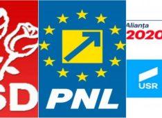 Panarama PNL-USR-PSD. Nehaliții de la Guvernare și din Opoziție