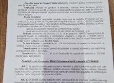 FOTO Anunț Primăria Mihai Eminescu: Scutiri de 100% la majorări pentru cei care își achită restanțele la plata taxelor