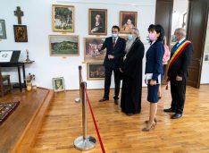 "FOTO Muzeul ""Ștefan Luchian"" a fost redeschis publicului"