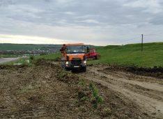 VIDEO Au început lucrările de modernizare la drumul național Botoșani-Ștefănești, legătura cu Vama Stânca