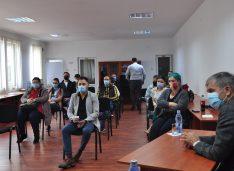 FOTO Antreprenorii și autoritățile au discutat la Camera de Comerț despre vaccinare