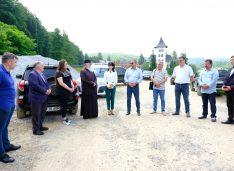FOTO Drumul Mănăstirilor a fost predat constructorului