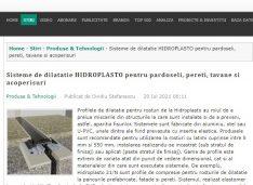 Sistemele inovative propuse de o firmă din Botoșani, promovate în Agenda Construcțiilor