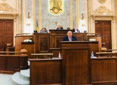 """Senatorul AUR Dorinel Cosma, demersuri pentru redeschiderea Vămii Racovăț: """"S-au investit 3,5 milioane euro… stă închis de 11 ani"""""""