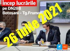 Andrei Drancă, USR, despre drumurile spre Iași și Ștefănești: USR a demarat lucrările și trebuie să ne asigurăm că se vor respecta termenele
